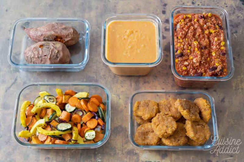 Préparations Batch cooking Automne 2