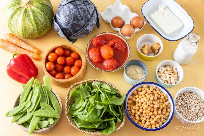 Ingrédients Batch cooking Eté 8