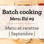 Batch cooking Eté 9