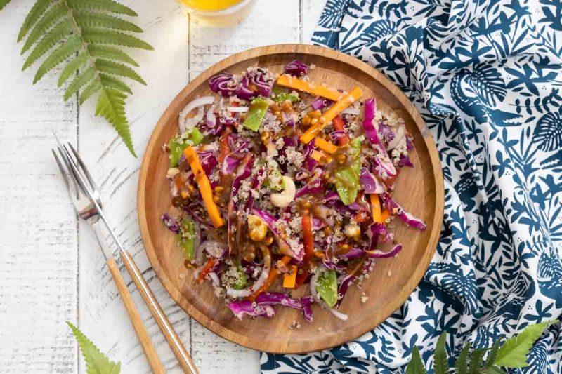 salade de quinoa thai