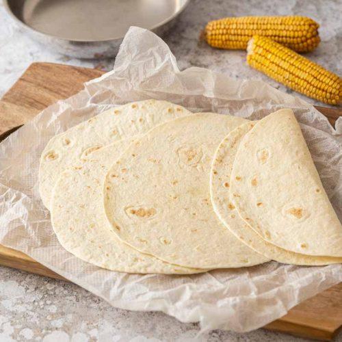 Tortillas au maïs maison