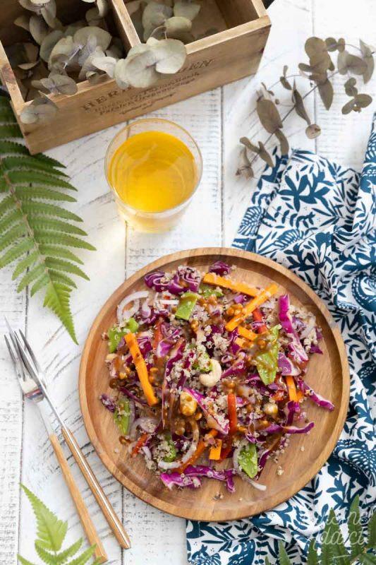 Salade thaï au quinoa