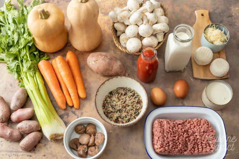 Batch cooking Automne 5 - Ingrédients