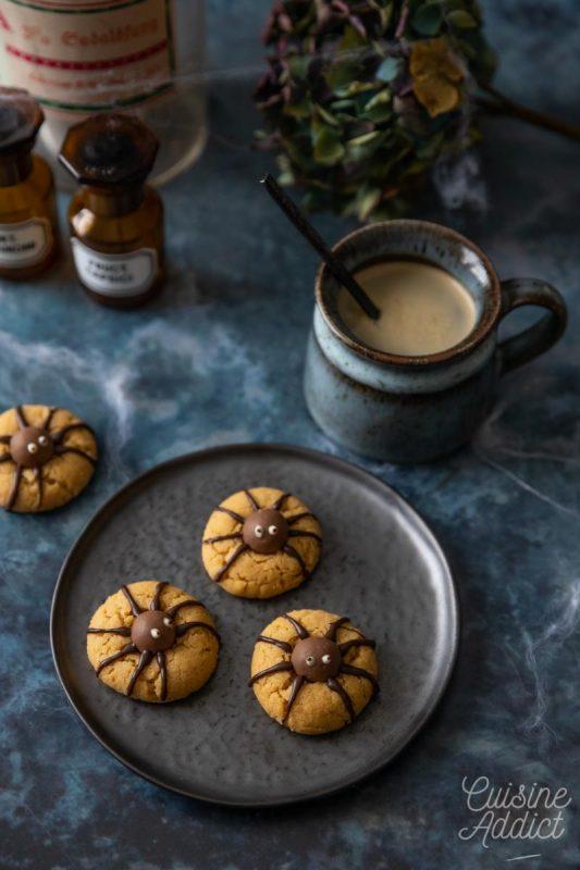 Cookies au beurre de cacahuètes pour Halloween