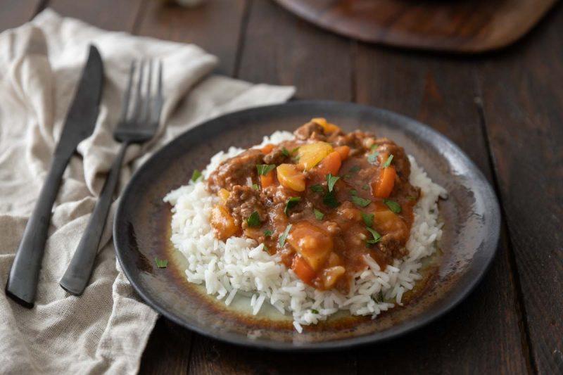 Recette de curry de boeuf