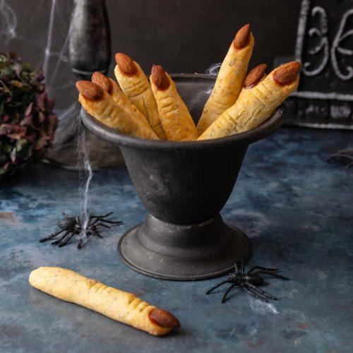 Recette doigts de sorcière au fromage