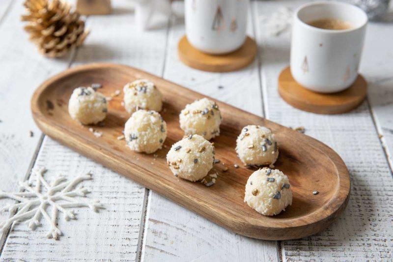 Recette de truffes à la noix de coco