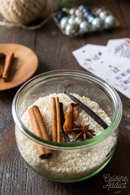 Kit pour riz au lait aux épices