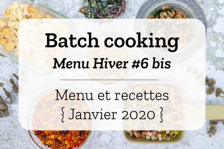 Batch cooking Hiver 5