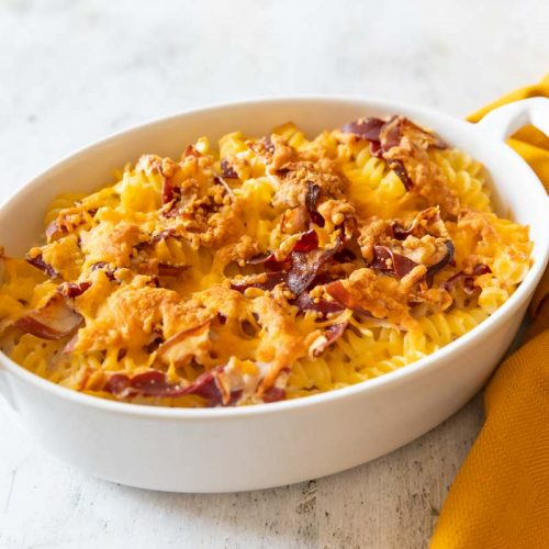 Recette de gratin de pâtes gourmand