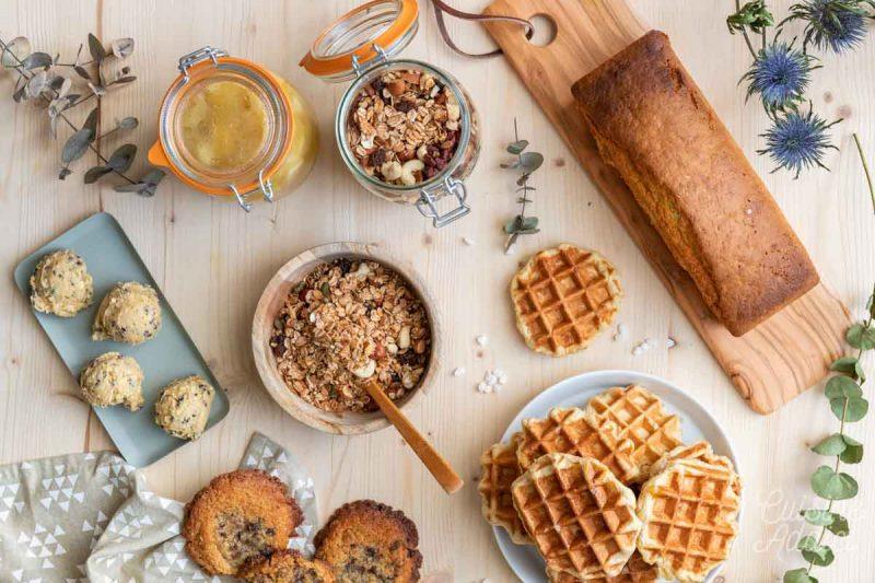 Batch cooking goûter et petit-déjeuner Hiver - Préparations