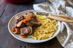 Bourguignon recipe with Cookeo