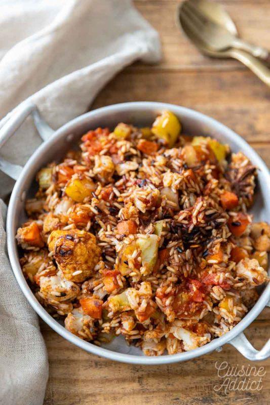 Biryani aux légumes d'hiver