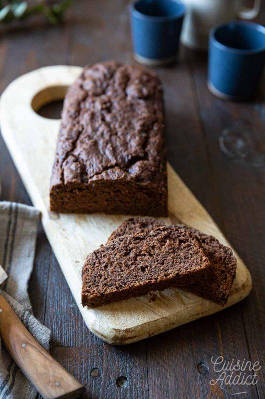 Gâteau au chocolat sans oeufs - Recette végétalienne