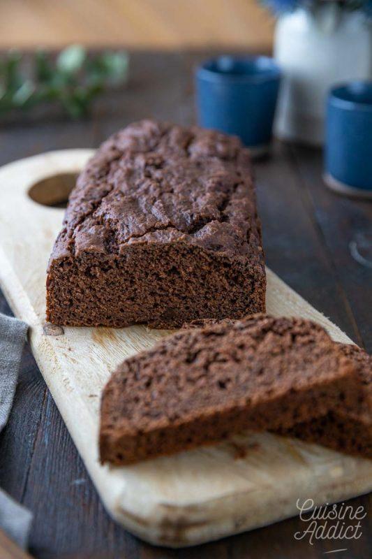 Cake au chocolat et tofu soyeux