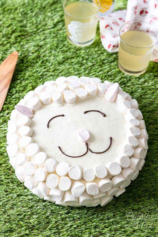 Gâteau mouton pour Pâques