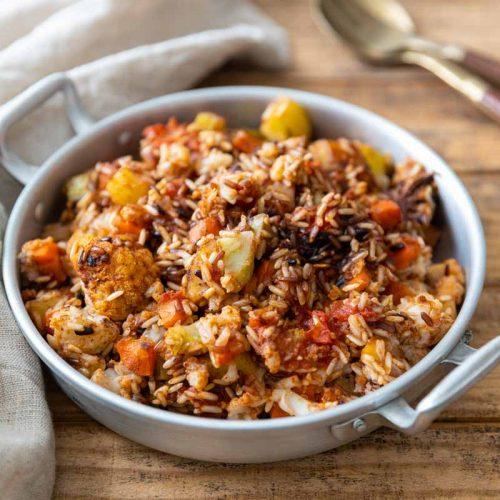 Recette de Biryani aux légumes d'hiver