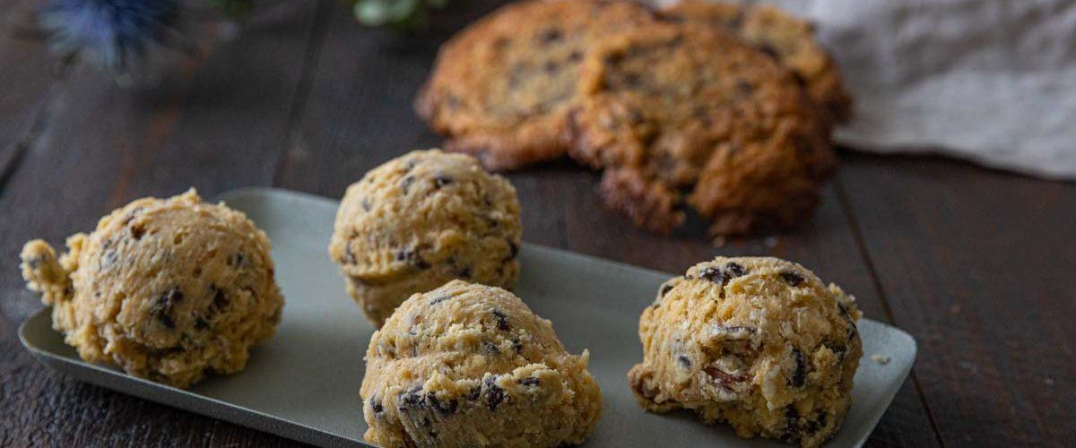 Recette de cookies spécial congélation