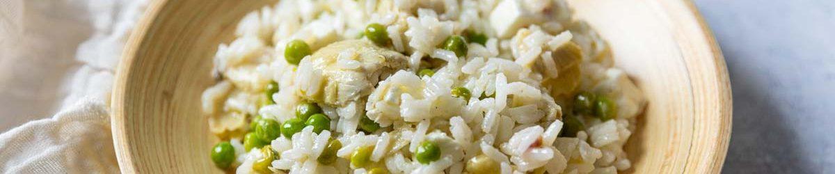 Recette de salade de riz printanière