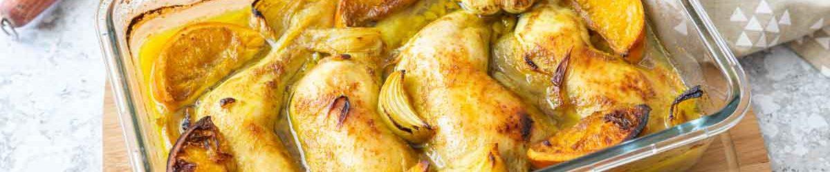 Recette de poulet aux pois cassés