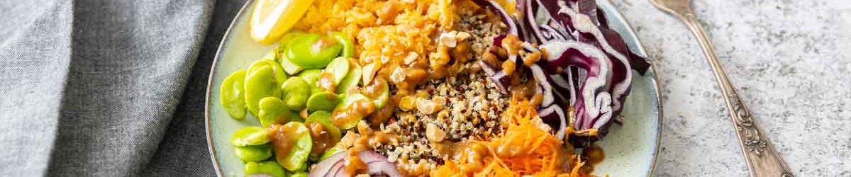 Recette de quinoa bowl thaï