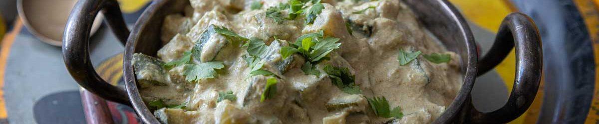 Recette de curry de courgettes