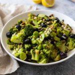 Recette de salade de brocoli