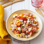 Recette de salade de maïs au jambon