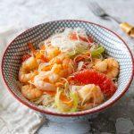 Recette de salade thaï aux crevettes
