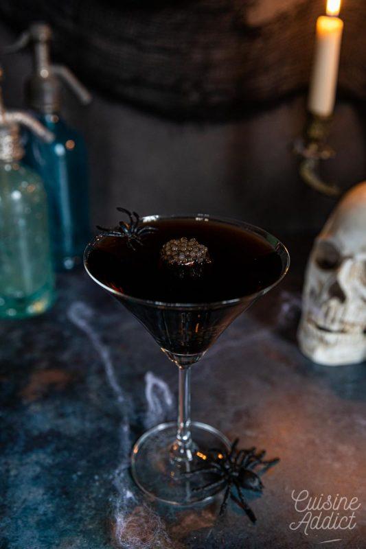 Black russian pour Halloween