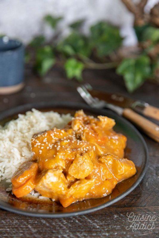 Mafé au poulet au Cookeo