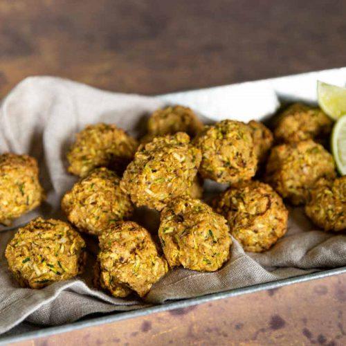 Recette de boulettes de courgette au flocons d'avoine