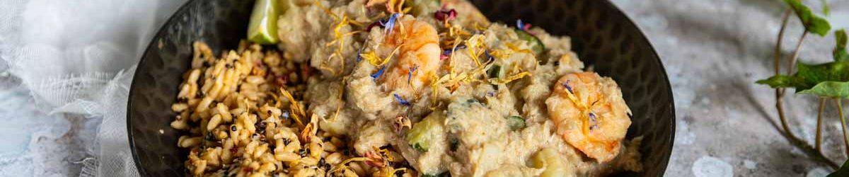 Recette de colombo de poisson et crevettes au Companion