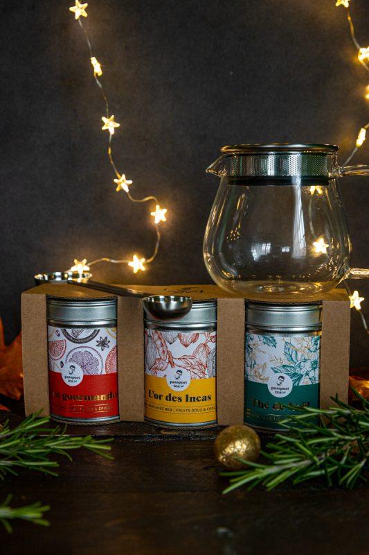 Coffret de Noël Passeport Tea