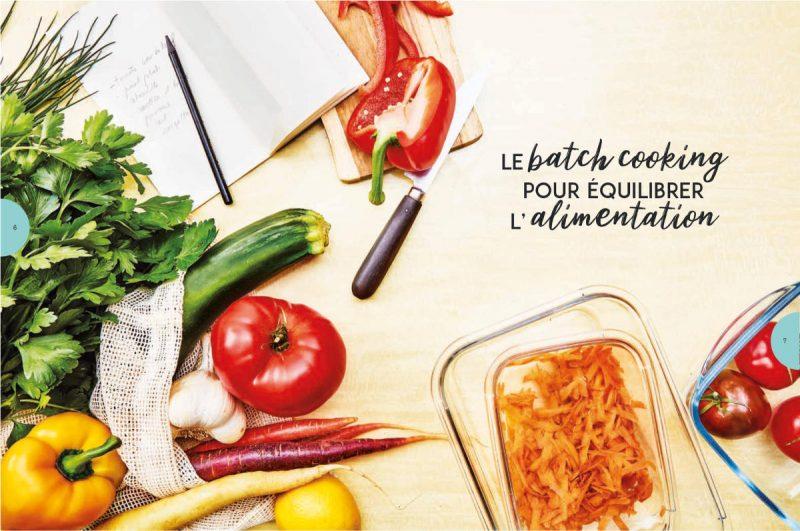 Le batch cooking pour équilibrer l'alimentation