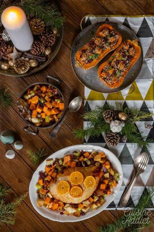 Plats et accompagnements du Batch de Noël - Saison 2