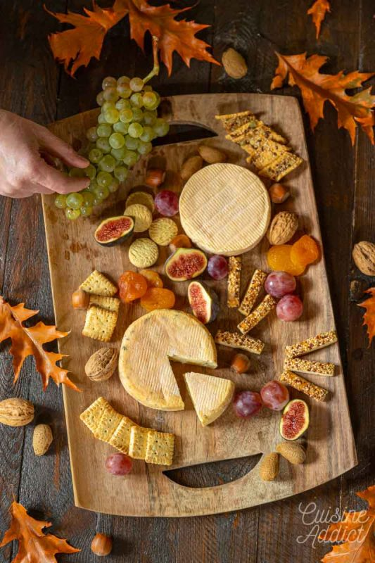 Plateau de fromages spécial Munster