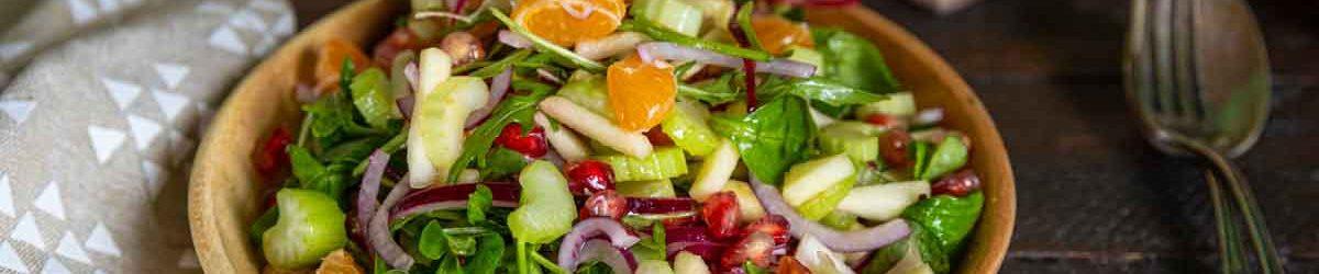 Recette de salade de Noël