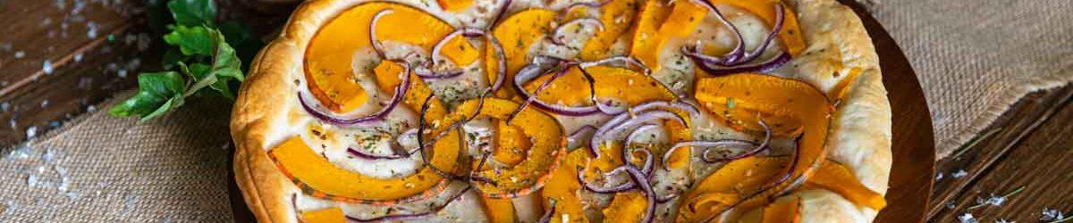 Recette de tarte fine au potimarron