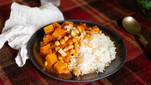 Recette de curry de butternut