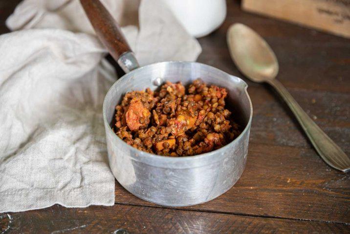 Recette de Lentilles bolonaise au Cookeo