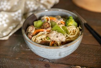 Recette poulet chow mein