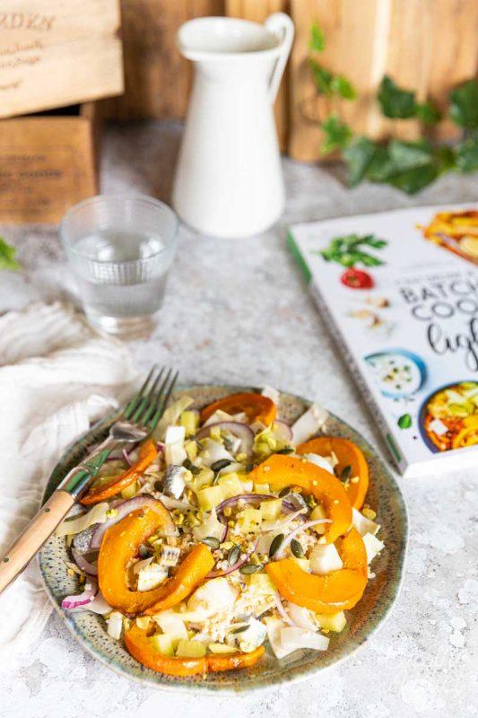 Salade d'endives au boulgour et potimarron