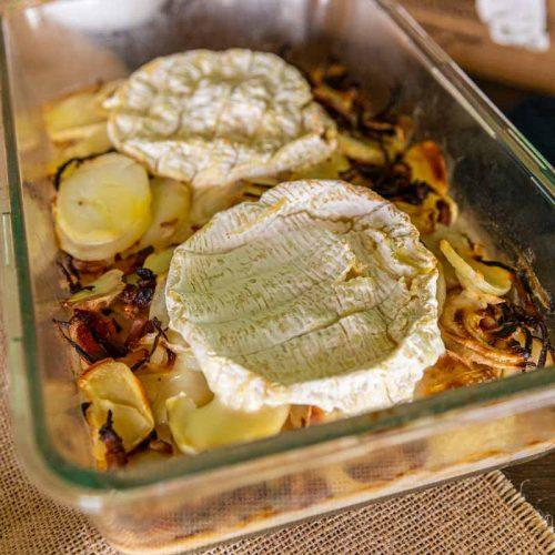 Recette de Gratin normand au Camembert