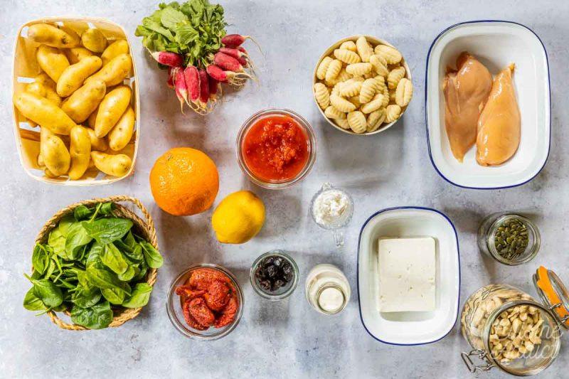 Batch cooking Printemps 3 ter - Ingrédients