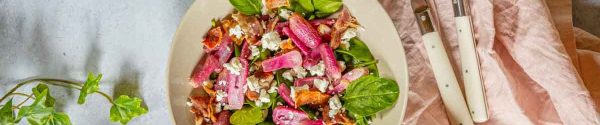 Recette de salade de radis rôtis