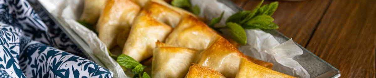 Recette de Samoussas végétariens
