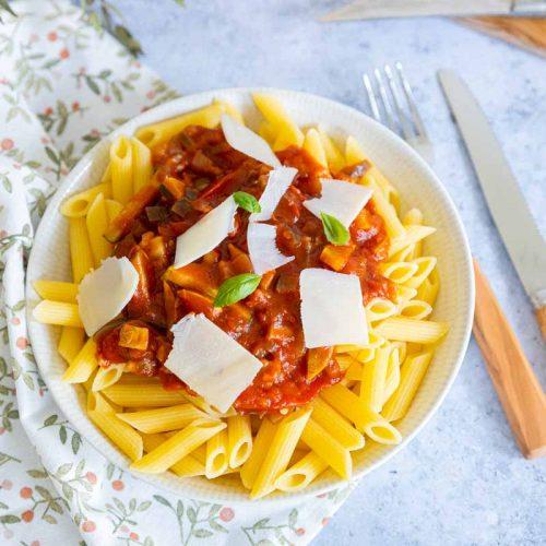Recette de sauce aux légumes