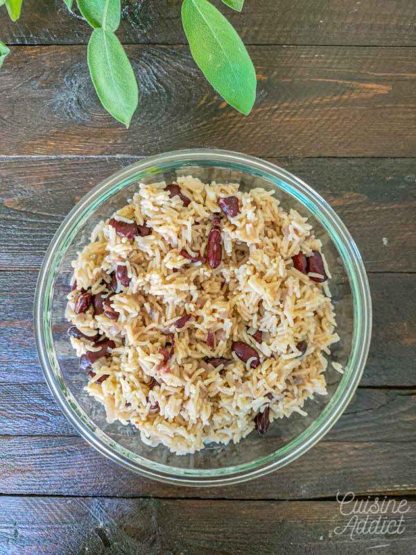Préparation du riz cajun