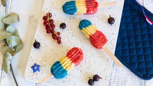Recette de biscuits tricolores pour le 14 juillet